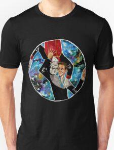 Garak and Bashir - Round and Round Unisex T-Shirt