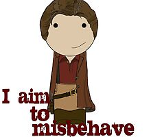 Aim to Misbehave by Jen  Talley