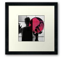 Body Language 36 Framed Print