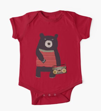 Boomer Bear One Piece - Short Sleeve