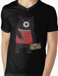 Boomer Bear Mens V-Neck T-Shirt