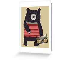 Boomer Bear Greeting Card