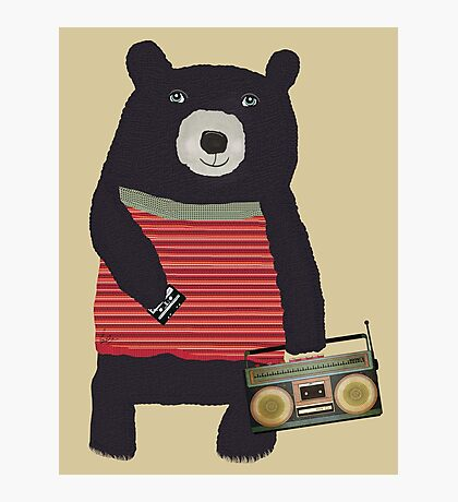 Boomer Bear Photographic Print
