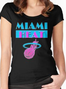 Heat Vice Women's Fitted Scoop T-Shirt