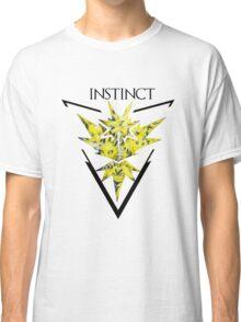 Pokemon Go- Team Instinct Classic T-Shirt