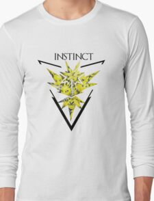 Pokemon Go- Team Instinct Long Sleeve T-Shirt