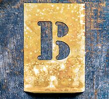 Letter B by Ricard Vaqué