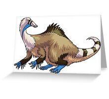 Deinocheirus Greeting Card