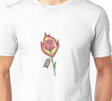 Floral and Fading Unisex T-Shirt
