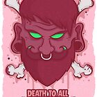 Death to all Hipsters by hard-gore