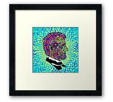 Psychedelic LSD Trip Abraham Lincoln Framed Print