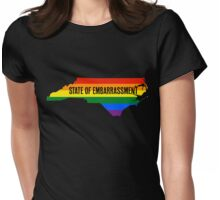 NC HB2 State of Embarrassment Womens Fitted T-Shirt