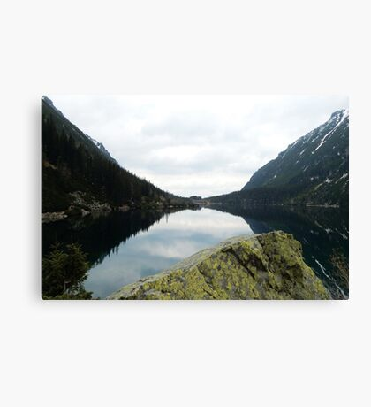 The Eye of the Sea Canvas Print