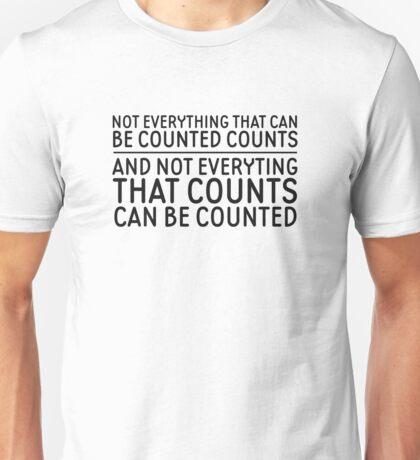 Albert Einstein Cool Life Quote Inspirational Unisex T-Shirt