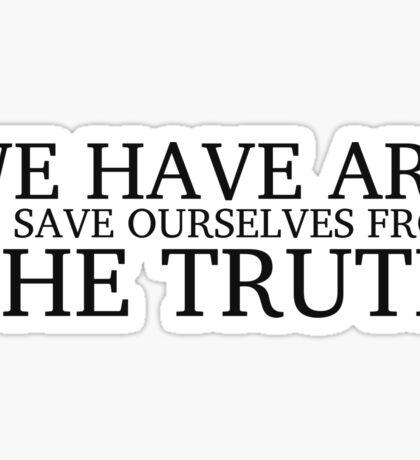 Friedrich Nietzsche Quote Art Life Inspirational Cool Sticker