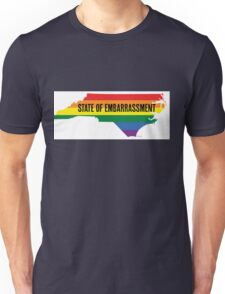 North Carolina HB2 Embarrassment Unisex T-Shirt