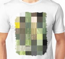 Cactus Garden Abstract Rectangles 3 Unisex T-Shirt