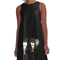 The Three Perfumes A-Line Dress