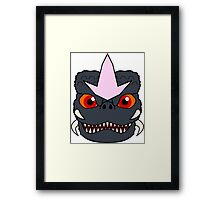 Space Godzooky Framed Print