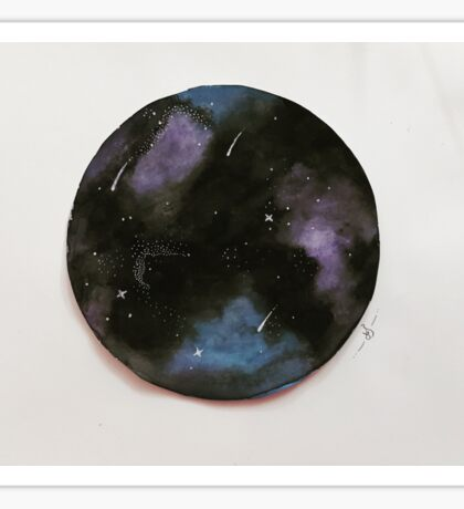 I want to be a galaxy Sticker
