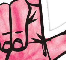 Loser Hand Sign  Sticker