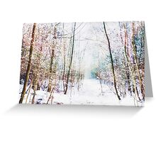 Winter Wonder Woodland Greeting Card