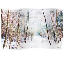 Winter Wonder Woodland Poster