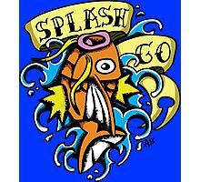 Splash Pokemon Photographic Print