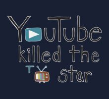 YouTube Killed the TV Star Baby Tee