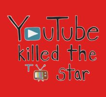YouTube Killed the TV Star One Piece - Short Sleeve