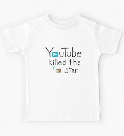 YouTube Killed the TV Star Kids Tee