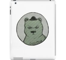 Grizzly Bear Illustration  iPad Case/Skin