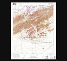 USGS TOPO Map Arizona AZ Lone Butte 312143 1952 24000 Unisex T-Shirt