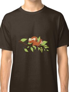 Molly the Red Squirrel Classic T-Shirt
