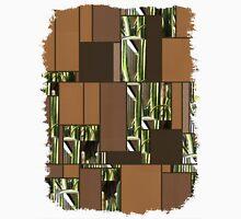 Cactus Garden Art Rectangles 6 Unisex T-Shirt