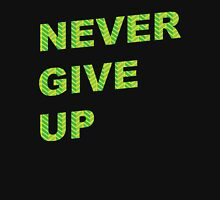 Never Give Up Workout Inspiration Unisex T-Shirt