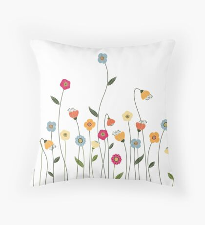 A Walk in the Countryside Throw Pillow