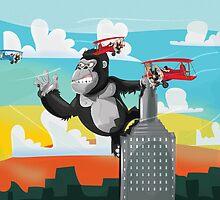 King Kong by Nick  Greenaway