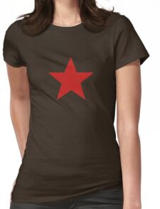 Red Star Womens Fitted T-Shirt