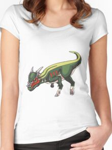 Stygimoloch/Pachycephalosaurus Women's Fitted Scoop T-Shirt