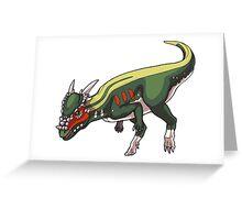 Stygimoloch/Pachycephalosaurus Greeting Card