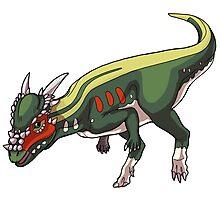 Stygimoloch/Pachycephalosaurus Photographic Print