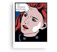 Ygritte's Lament Canvas Print