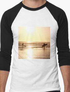 Golden Surfers Men's Baseball ¾ T-Shirt
