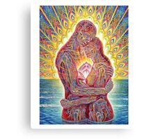 ALEX GREY MY LOVE Canvas Print