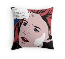 Ygritte's Lament Throw Pillow
