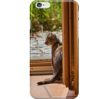 Big wide world out there iPhone Case/Skin