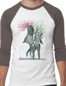 Take a dance. Men's Baseball ¾ T-Shirt