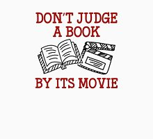 Don't Judge A Book By Its Movie Womens Fitted T-Shirt