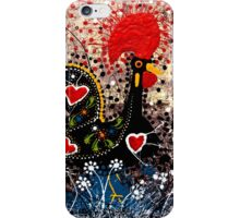 Portuguese Rooster 3 iPhone Case/Skin